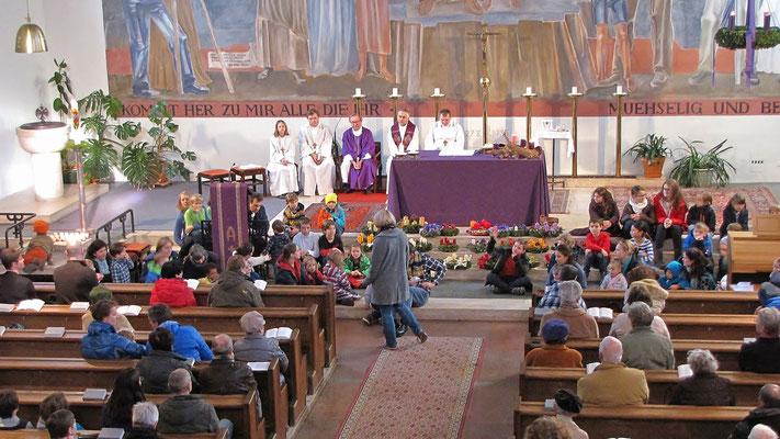 Erster Adventsonntag - Der Adventkranz