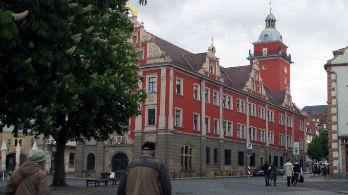 Mittwoch: Rathaus von Gotha