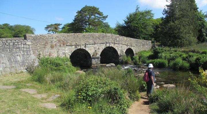 Freitag: Fotostopp in Postbridge, einer kleinen Raststation im Dartmoor Gebiet.