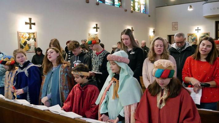 Vierter Tag, Sternsinger Messe