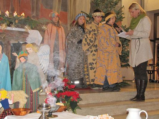 6.Jänner - Sternsinger in der Dreikönigsmesse, Fürbitten