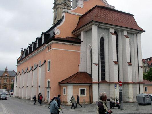 Mittwoch: Georgenkirche in Eisenach