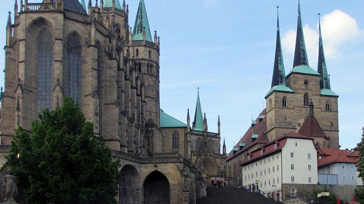 Donnerstag: Dom und Severikirche in Erfurt