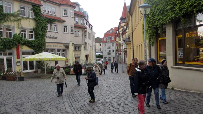Mittwoch: Rundgang durch die Altstadt von Gotha