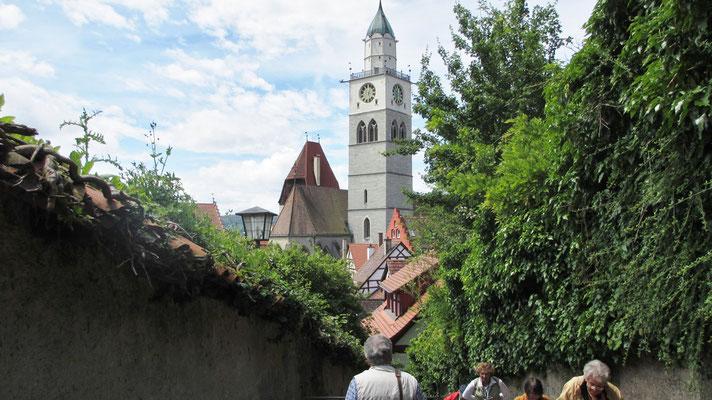 Samstag: Das Münster St.Nikolaus in Überelingen.