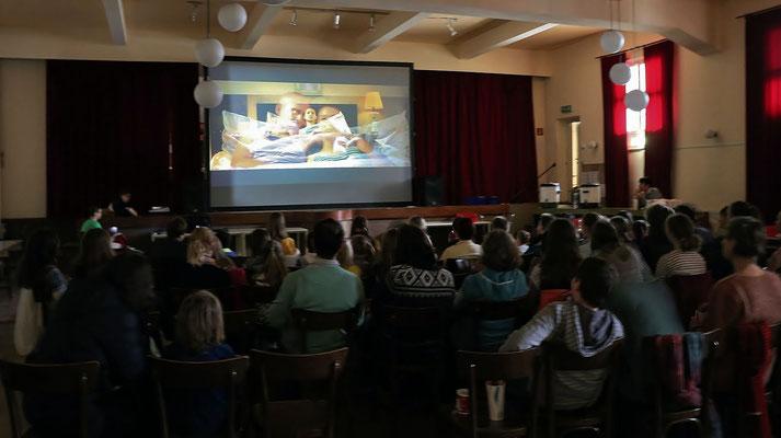 Sternsinger Danke-Kino im Pfarrsaal