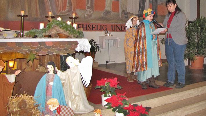 Mittwoch: Sternsinger Messe, Bußgedanken
