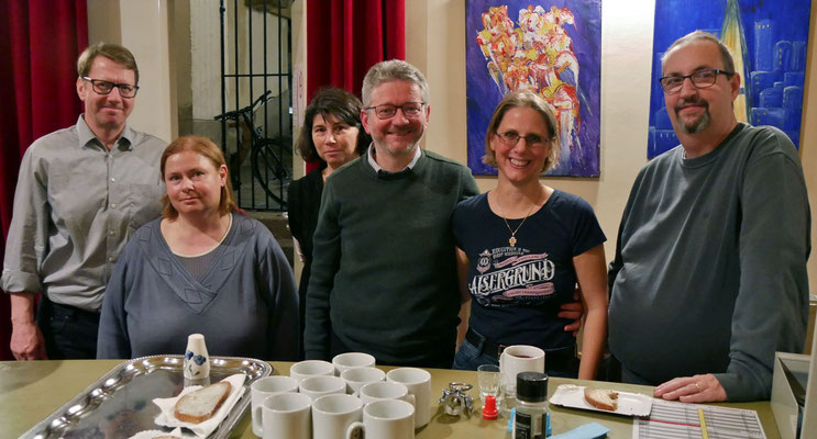 Das Punschhütten Team am vierten Adventsamstag.
