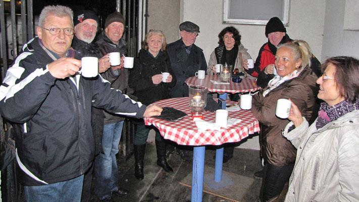 Erster Adventsamstag, Alt-Jugendtreffen.