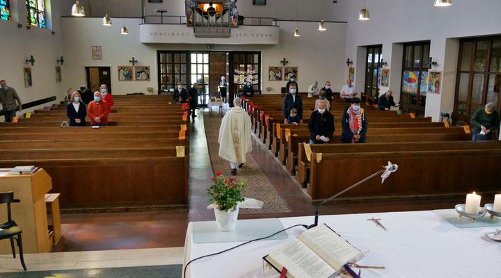 Sonntagsmesse: Ende der Messe