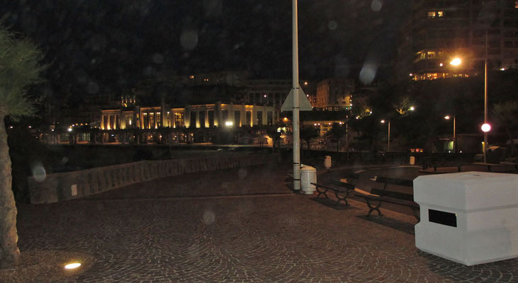 Donnerstag: Biarritz, Abendspaziergang