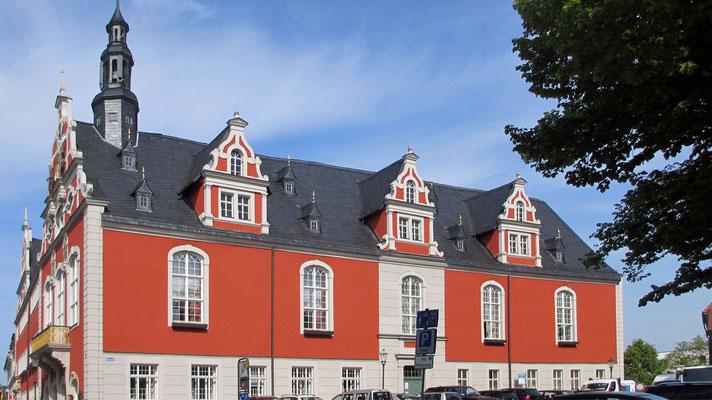 Donnerstag: Rathaus in Arnstadt