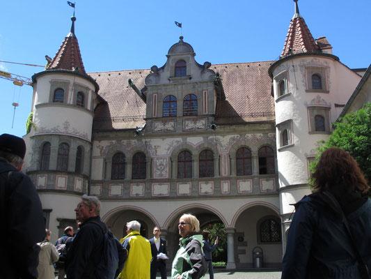Freitag: Rathaus von Konstanz.