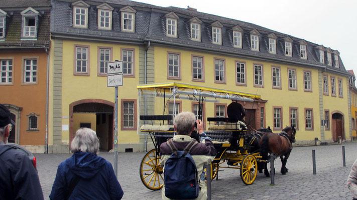 Dienstag: Göthe Wohnhaus in Weimar