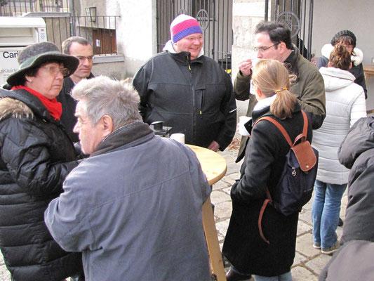 Vierter Adventsonntag nach der Messe
