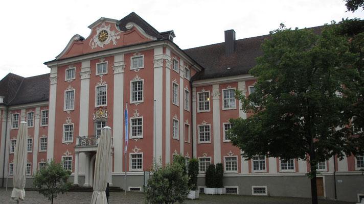 Freitag: Neues Schloss in Meersburg.