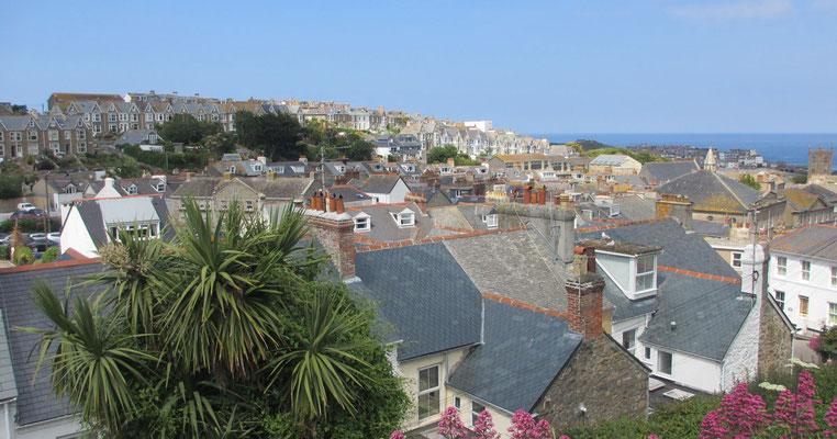 Montag: Letzte Station am Montag ist der beliebte Ausflugsort St.Ives, an dem einige Rosamunde Pilcher Filme handeln.