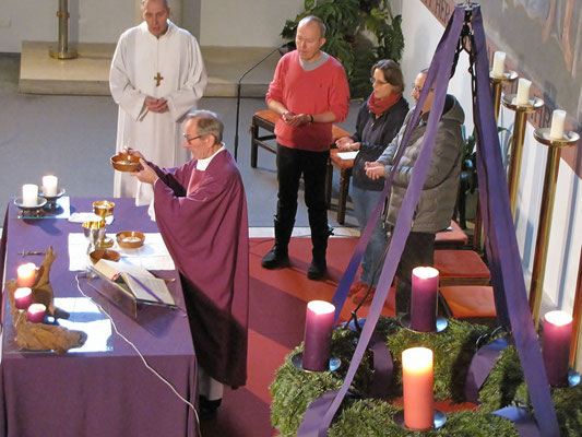Vierter Adventsonntag, Kommunion