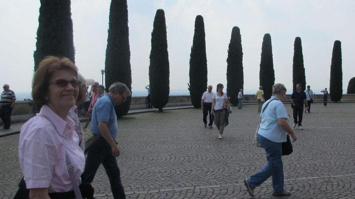 Samstag: Aussichtpunkt oberhalb von Verona
