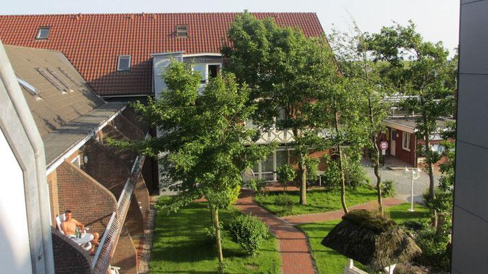 Dienstag: Bezug des Hotels Neuwarft in Dagebüll.