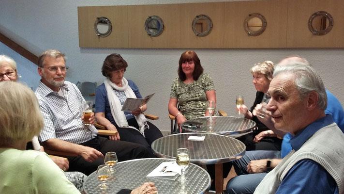 Sonntag: Lourdes, Abschiedsabend im Hotel (1 von 2)
