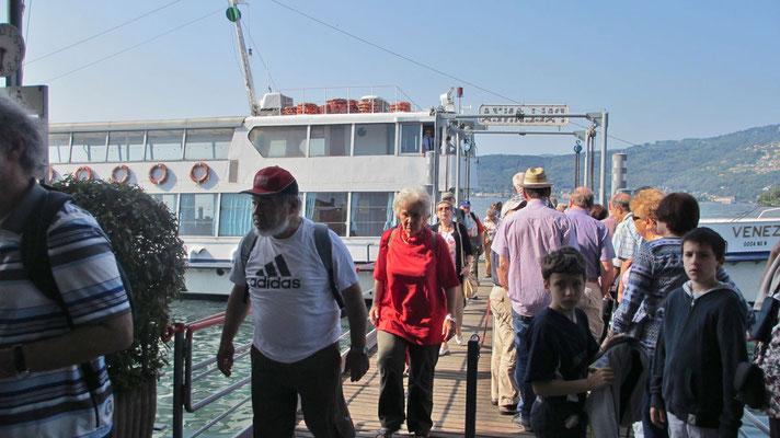 Donnerstag: Schifffahrt von Verbania nach Pallanzana am Lago Maggiore