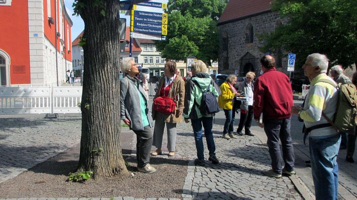 Donnerstag: Rundgang durch Arnstadt, der ältesten Stadt Mitteldeutschlands