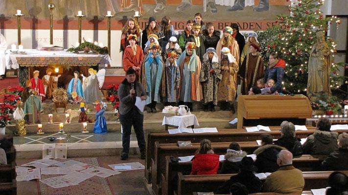 Mittwoch: Sternsinger Messe, Gedanken zum Projekt in Indien
