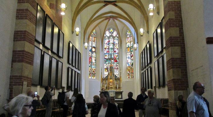 Freitag: Thomaskirche in Leipzig