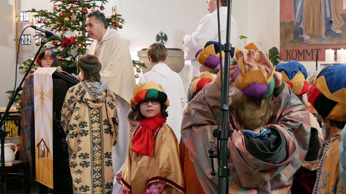 Dritter Tag: Sternsingermesse, Evangelium