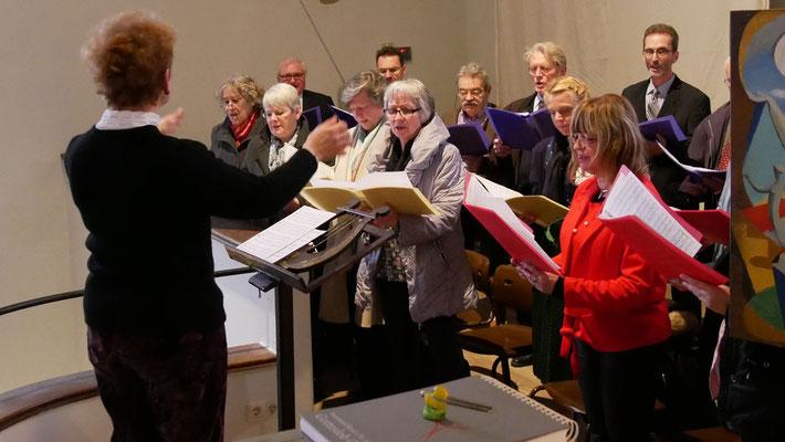 Hochamt am Ostersonntag, mit dem Kirchenchor