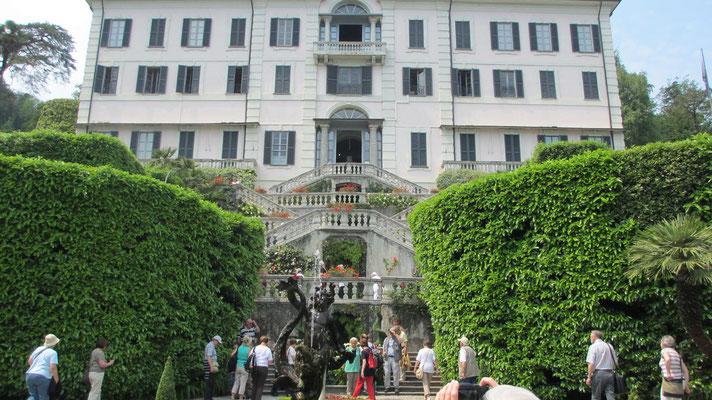 Freitag: Villa Carlotta in Como am Como See