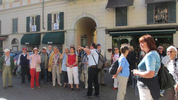 Dienstag: Abmarsch vom Hotel zur Schiffsstation in Verbania am Lago Maggiore