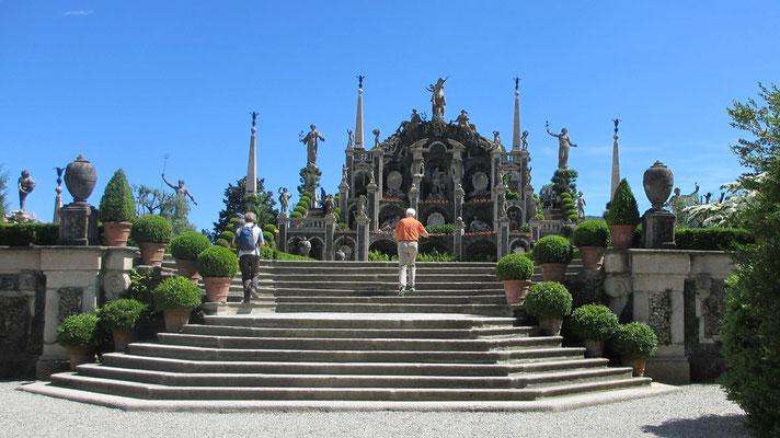 Dienstag: Botanischer Garten auf der Isola Bella im Lago Maggiore