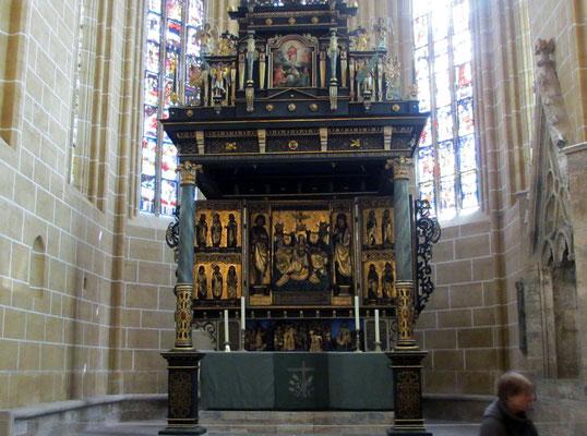 Samstag: Marienkirche in Mühlhausen