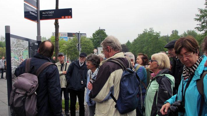 Dienstag: Rundgang durch die Altstadt von Weimar