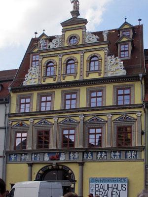 Donnerstag: Rundgang durch die Altstadt von Erfurt mit seinen Fachwerkhäusern