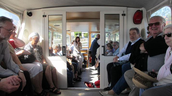Dienstag:  Bootsfahrt auf die Insel Isola Madre im Lago Maggiore