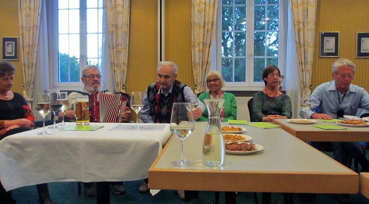 Samstag: Geselliger Abschlussabend im Hotel in Gotha