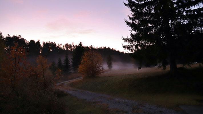 Vierter Tag, Sonnenaufgang
