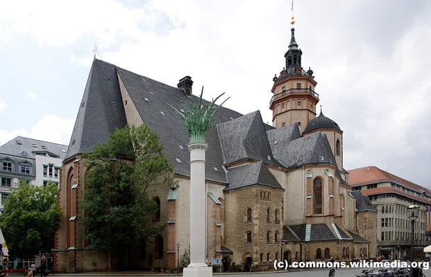 Freitag: Nikolaikirche in Leipzig