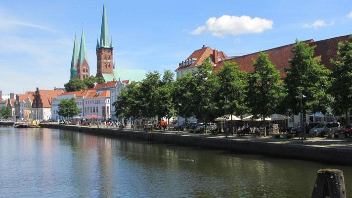 Dienstag: Lübeck wurde 1987 von der UNESCO zum Weltkulturerbe erklärt.