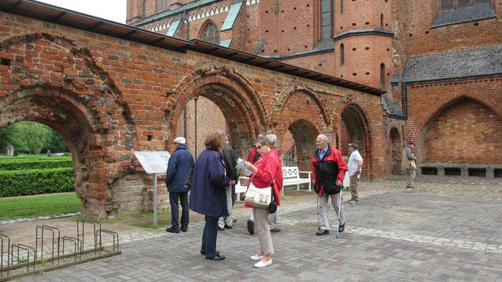 Freitag: Das Kloster ist ein eindrucksvolles Bauwerk der norddeutschen Backstein Gotik.
