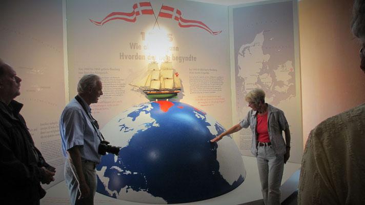 Donnerstag: Besuch des 2012 eröffneten Schifffahrtsmuseum in Flensburg.