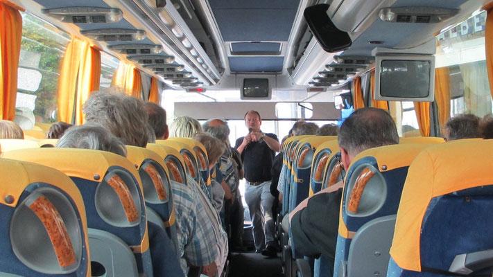 Samstag: Busfahrt von Verbania nach Mailand