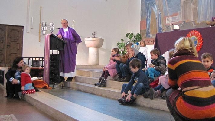 Zweiter Adventsonntag, Kurzpredigt von Pfarrrer Josef Markl