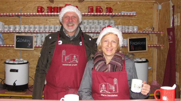 Dritter Advent Sonntag, Punschhütten Team