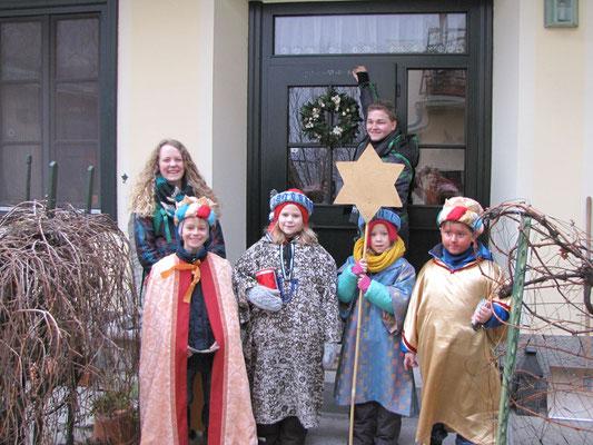 5.Jänner - C-M-B Segenswunsch an der Tür