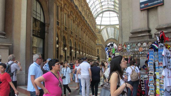 Samstag: Mailand, Galleria Vittorio Emanuele