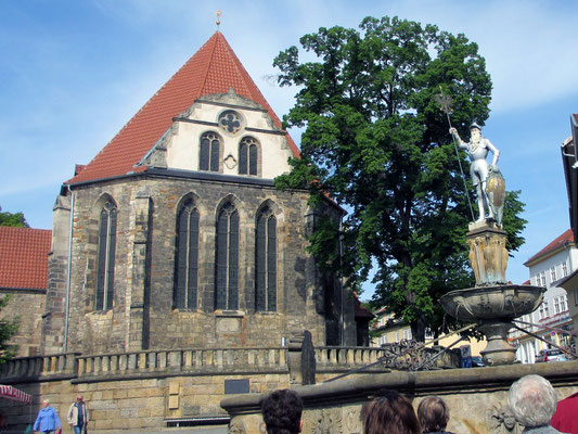 Donnerstag: Johann-Sebastian-Bach Kirche in Arnstadt